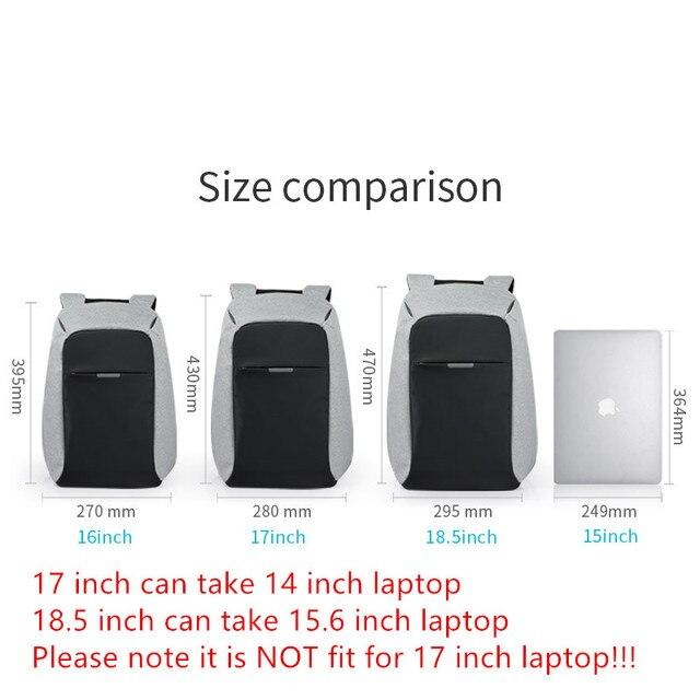 Mixi Unisex plecak mężczyźni kobiety tornister chłopcy dziewczęta tornister 15.6 plecak na laptopa USB Charge Trend Fashion 17 18 Cal M5510