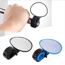 1PC Universal Round Bicycle Rearview Mirror Handlebar Rotate Wide-angle Mirror For MTB Road Bike Cycling Accessories