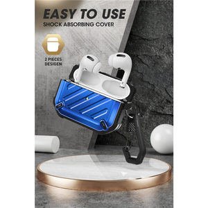 Image 4 - SUPCASE UB Pro Designed For Airpods Pro Case 2019 Full Body Rugged Protective Cover with Carabiner For Apple Airpods Pro (2019)