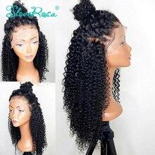 13X4 شعر مستعار برازيلي مجعد 130% الكثافة برباط أمامي للنساء ذوات البشرة السمراء شعر بشري ريمي منزوع مسبقاً عقدة تبييض
