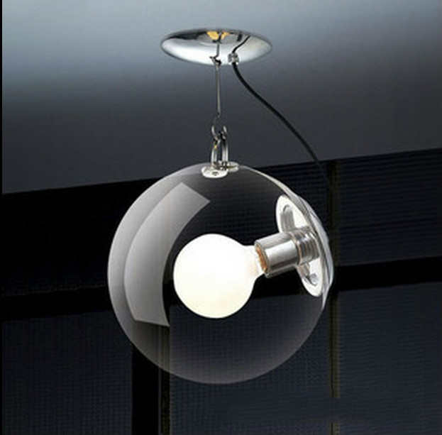 Glass Hanging Pendant Lamps Bubble Ball Soap Chandelier Simple Living Room Coffee Bar Droplight Hallway Balcony Ceiling Lamps