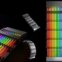 Cable de extensión de luz RGB de 24 Pines, Streamer arcoíris, línea de neón PSU, 5V, 3 pines, ARGB, sincronización, Cable de alimentación