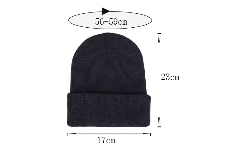 Winter Hats for Unisex New Beanies Knitted Solid Cute Hat Lady Autumn Female Beanie Caps Warmer Bonnet Men Casual Cap Wholesale
