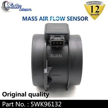 XUAN MAF czujnik miernik masowego przepływu powietrza 5WK96132 dla BMW 330i 330xi 330Ci 530i X5 Z3 E36 E39 E46 E53 3.0 13621438871 1438871