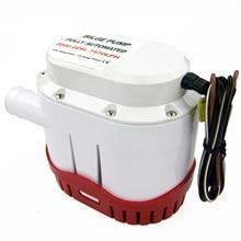 Boot Automatische Lenspomp 2000 Gph Marine Waterpomp 12V Ingebouwde Vlotterschakelaar