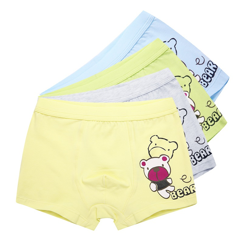2PCS/SET Boys Boxer Children Underwear Male Cotton Baby Underwear Children Underpants Briefs For Boys Baby Panties Child's