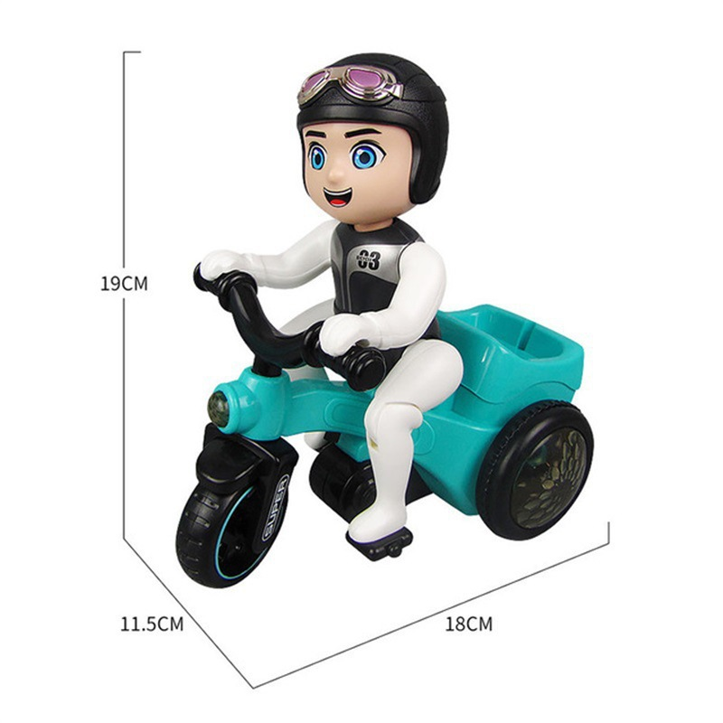 BOY'S 1-2-3 A Year Of Age CHILDREN'S 4-5 Baby Girls 6 CHILDREN'S Electric Car Educational Stunt Tricycle Toy