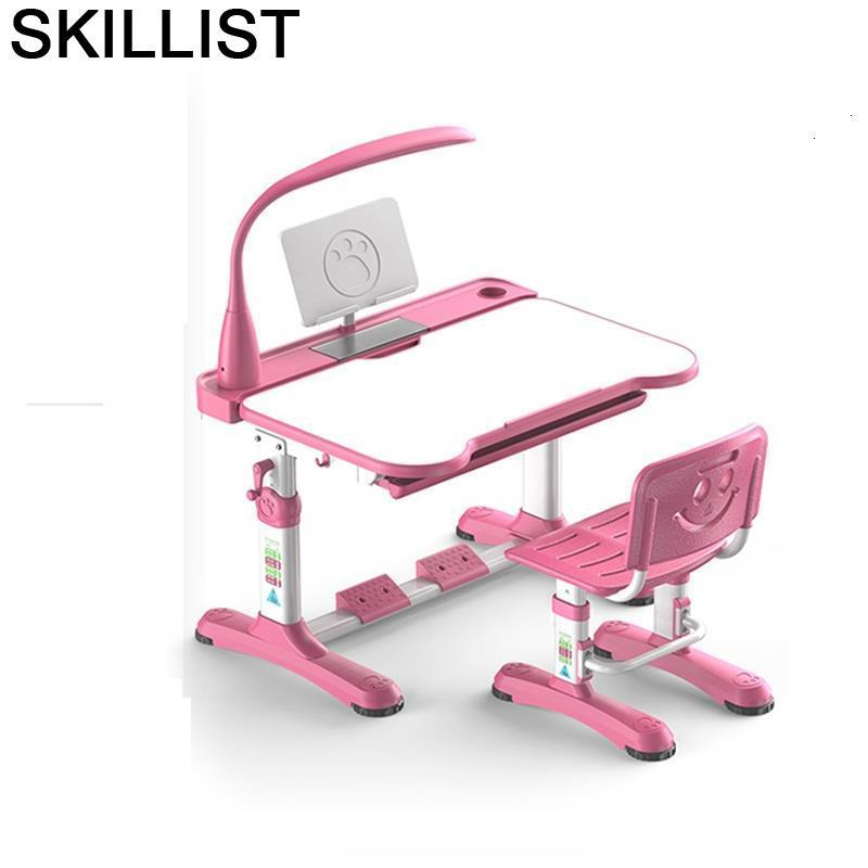 De Estudo Children Pupitre Chair And Cocuk Masasi Stolik Dla Dzieci Adjustable Bureau Enfant Mesa Infantil For Study Kids Table