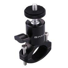 Abrazadera de manillar de bicicleta para cámara DV DSLR 1/4, tornillo de montaje para trípode, Clip para cámara DV para Gopro