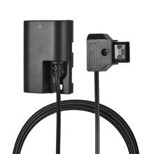 D Tap Zu Lp E6 Vollständig Decodiert Dummy Batterie Adapter mit Reverse Polarität Schutz für Canon 5D Ii/Iii /Iv 5Dsr 6D 6Dii 60D 70D
