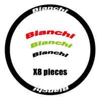 Bianchi Aufkleber von rennrad/bicyle für felge Fit Für 30/40/50/60mm carbon 700C Rad bremse rennrad zwei räder abziehbilder