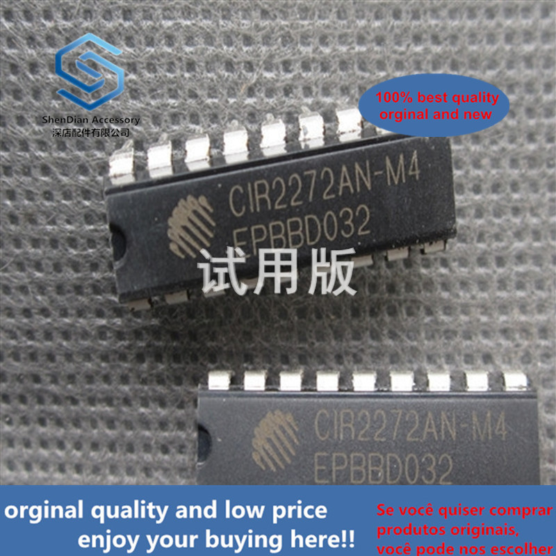 20ppcs 100% Orginal New Brand New Original CIR2272AN-M4 DIP-18 Built-in Amplification Fixed Code Decoding IC CIR2272