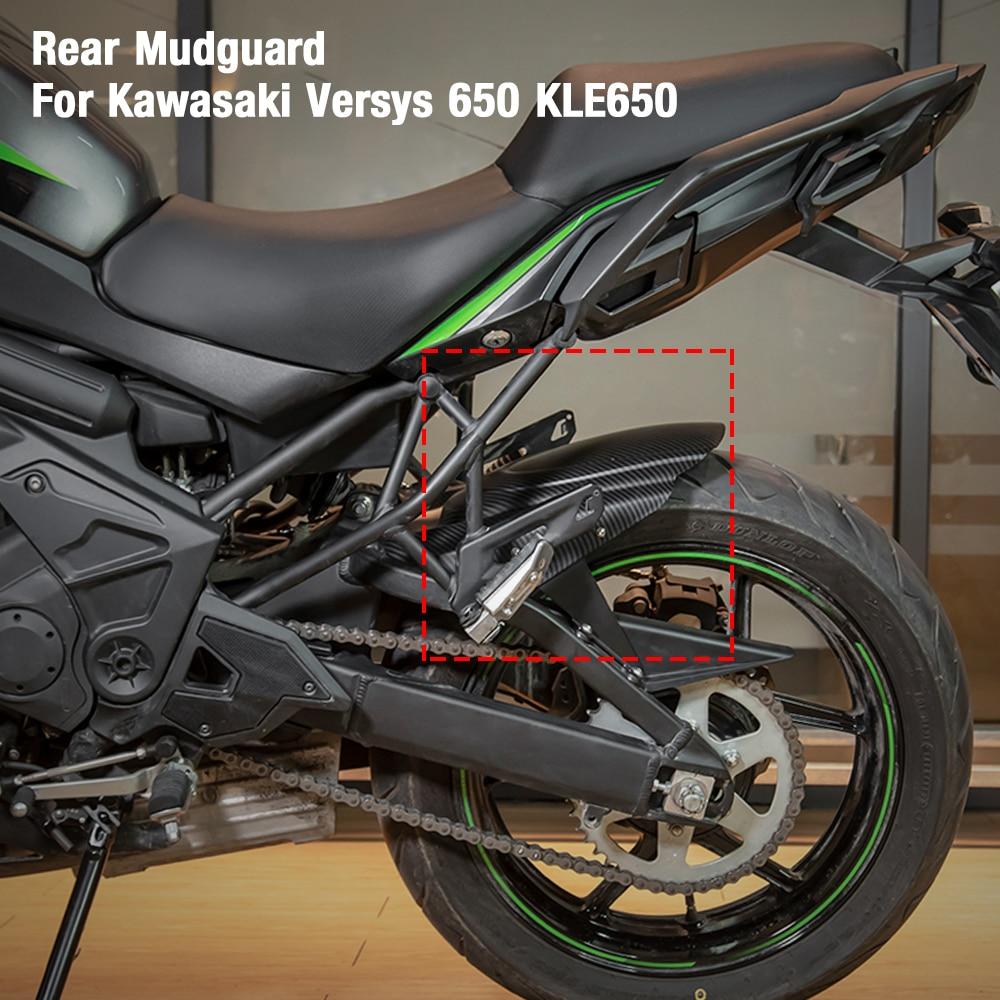 Motorcycle Rear Hugger Fender Mudguard Splash Guard For Kawasaki Versys 650 KLE650 2014 2015 2016 2017 2018 2019 2020