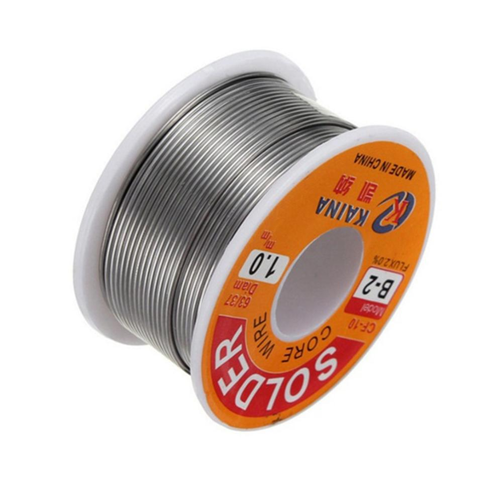 Tin Lead Soldering Wire Reel 0.5 0.6 0.8 1 mm Tin Lead Rosin Core Solder Wire Line DIY Electric Welding Tool