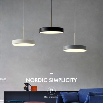 цена LED nordic cord hanging light modern minimalist restaurant pendant light bar designer creative single dining room pendant lamp онлайн в 2017 году