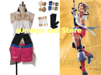 Customize,Free Shipping! Final Fantasy XII FFXII RW FF12 Ashe Cosplay Costume,Custom Size Halloween Wholesale Good Quality
