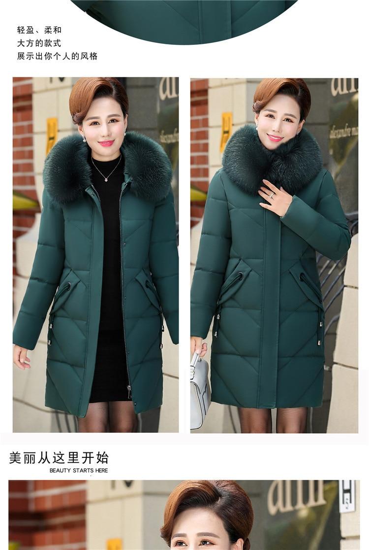 Colorful Warm Jacket Pocket