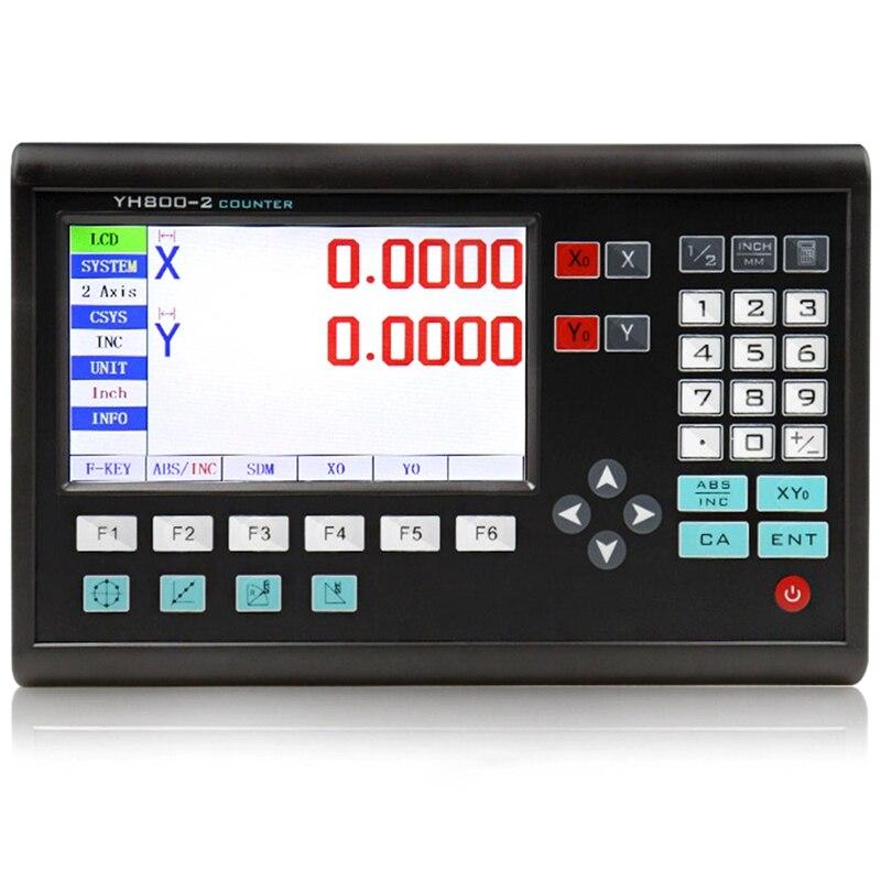 WSFS fraiseuses à chaud outil complet Dro Kit 2 axes Dro ensemble/Kit affichage numérique Dro Sns-2V (prise ue)
