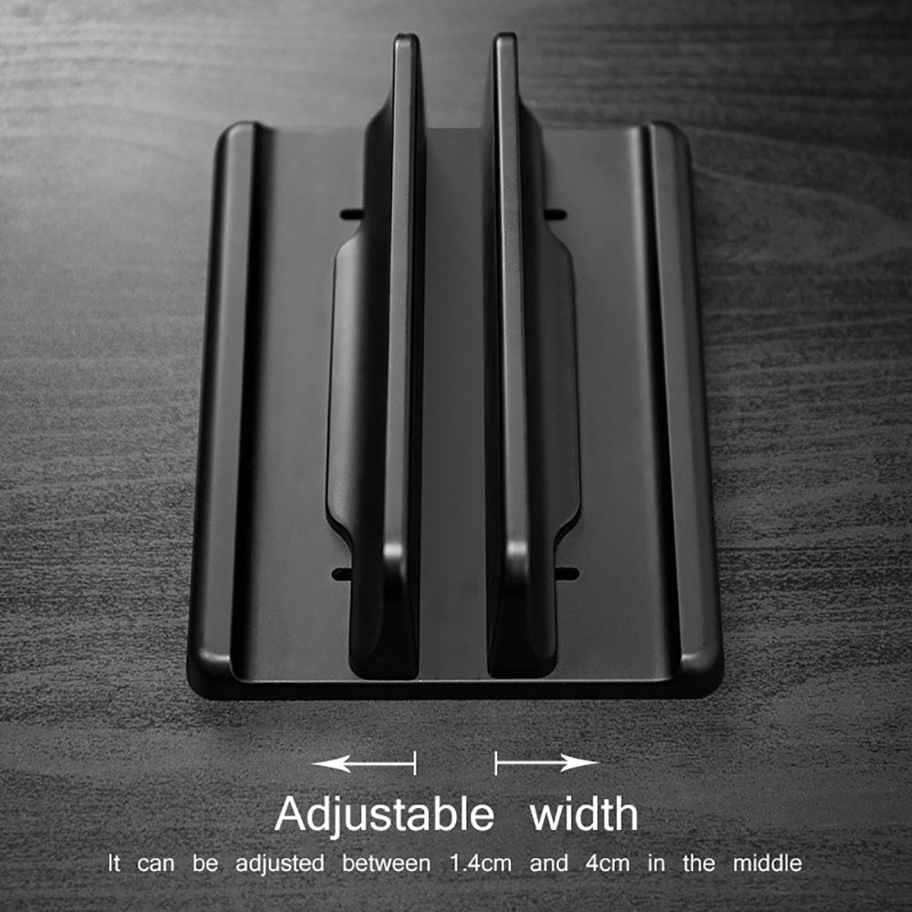 Vertical Laptop Stand Desktop Computer Stand Adjustable Laptop Stand Dual Vertical Laptop Stand For Macbook Air Pro Desktop