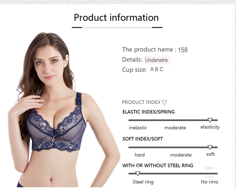 Information of Push Up Lace Bra