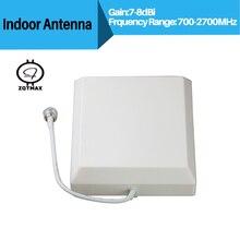 Antena para 2 ZQTMAX G 3G 4G GSM CDMA WCDMA UMTS LTE Repetidor Indoor Antena 4G LTE Antena 806 2700Mhz Antena Interior Painel de Parede
