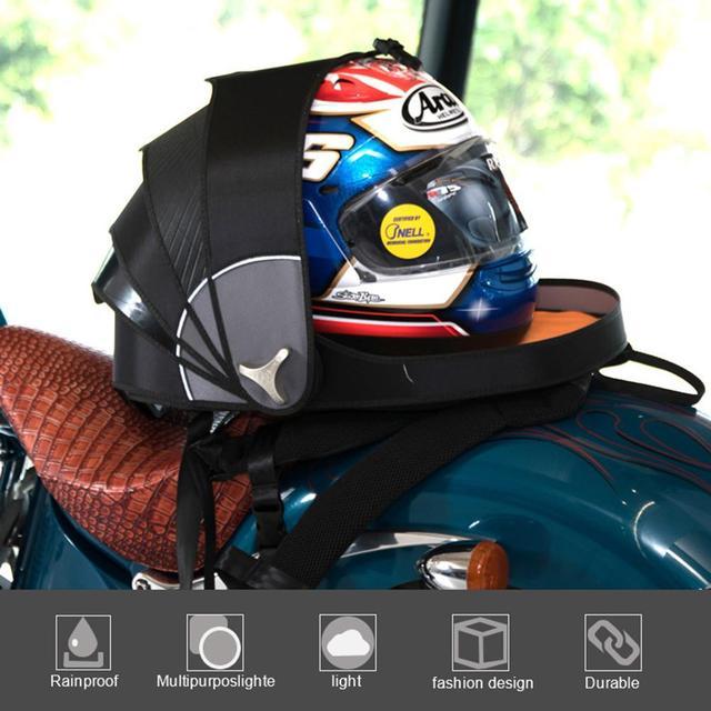 Sac à dos Motocross pour moto | Sacs de casque, sac déquitation imperméable, sac à épaule de rangement, sac queue de moto, accessoires moteur