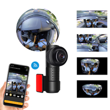 Mini DVR Car-Camera Panoramic-View Fish-Eye Night-Vision Hidden Wifi 4K-2160P-360 High-Definition