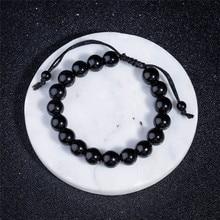 Bracelet Obsidian Slimming-Product 10mm-Stone 1pc Adjustable Round