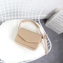 Wild small square bag PU small bag tide simple messenger bag Korean version of the new shoulder bag casual 2020ins world brand small bags new fashion korean version of the small square bag lock buckle handbag simple wild shoulder messenger bag