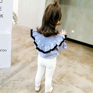 Image 3 - 2020 Girl Pants Autumn Winter Kids Clothes solid children pants for baby Girls Trousers toddlers white black button fashion