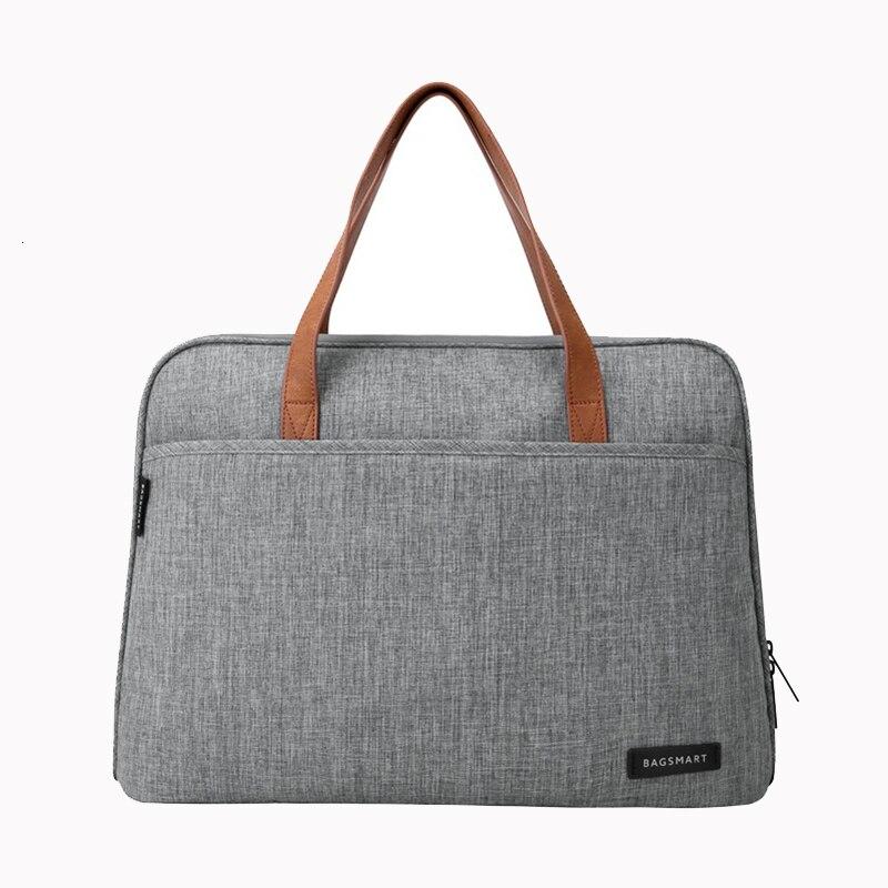BAGSMART 14 Inch Laptop Briefcase Waterproof Bag Lightweight Messenger Bags Causal Handbag Fashion Nylon