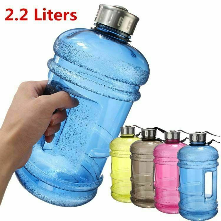 2.2L Big Large Outdoor Sport Gym Half Gallon Fitness Training Camping Running Workout Sports Bottle Large Capacity Water Bottles|Water Bottles| |  - AliExpress