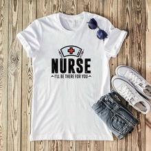 Women t-shirt keep calm nurse t-shirt summer funny design nurse top casual ladies casual tee Harajuku girl t-shirt