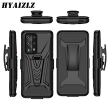 Armor Case with Belt Clip for Galaxy S20 FE S21 Note 20 Ultra A01 A21S A11 A31 A41 M31 A81 S10 Lite Heavy Duty Protective Cover