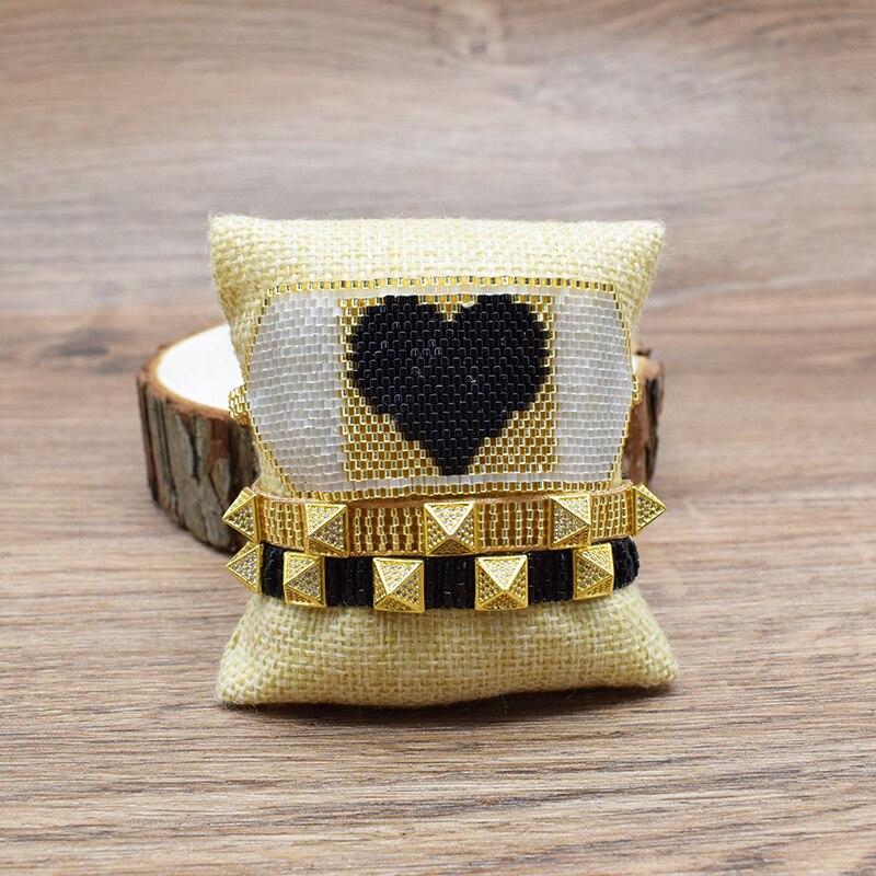 Купить женские браслеты в форме сердца rttooas miyiki модные манжеты