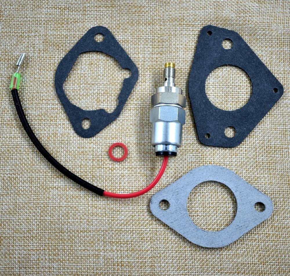 USA NEW Engines Kit Repair Fuel Shut-Off Solenoid Valve for Kohler 24 757 22-S