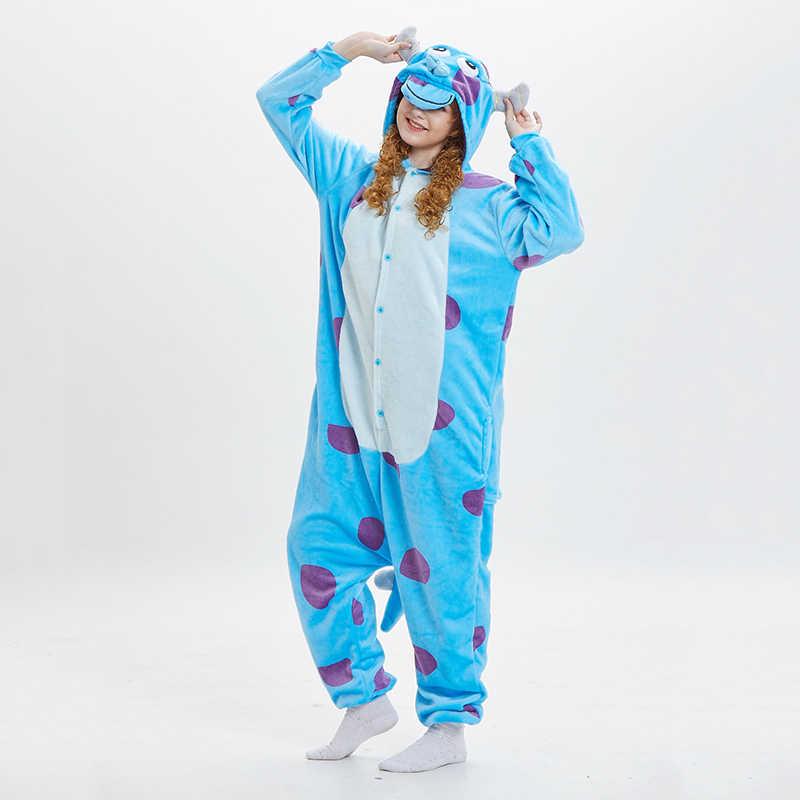 Pijama Mujeres Onesie Skeleton Kigurumis Divertido Pijama De Dibujos Animados para Adultos Fiesta Invierno C/álido Franela Mono Hall Entre Ropa