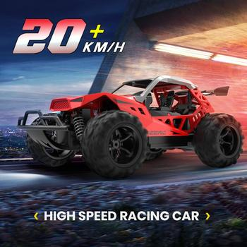 DEERC RC Car Drift 20 KM/H 1:22 Racing RC Car 60 Mins Play Time 2.4 GHz Drift Buggy Toy Car With 2PCS Batteries For Children 1