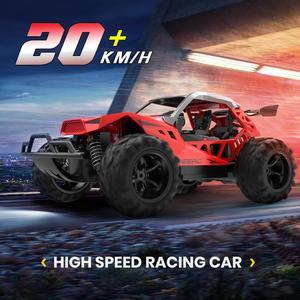 DEERC RC Car Drift 20 KM/H 1:22 Racing RC Car 60 Mins Play Time 2.4 GHz Drift Buggy Toy Car With 2PCS Batteries For Children