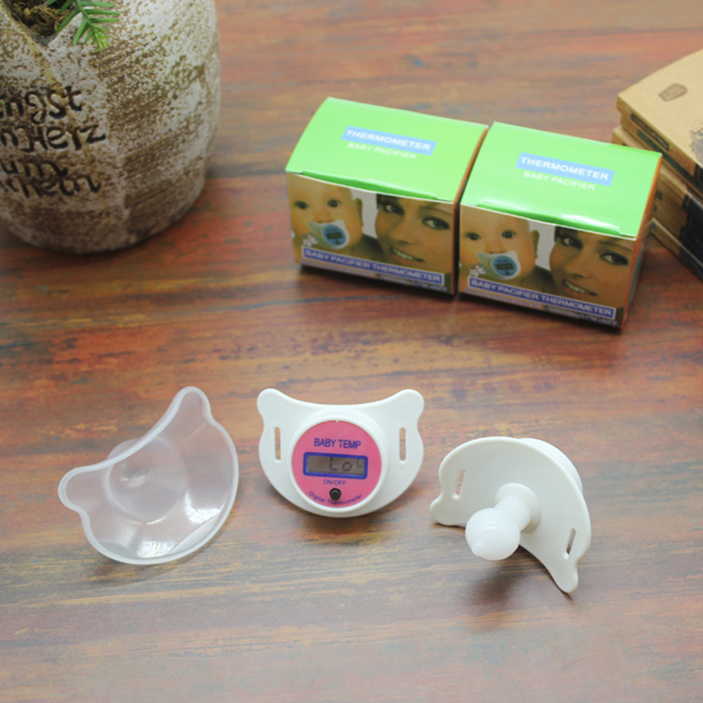 Thermometer Gauge Baby Month Pacifier Nipple, Thermometer
