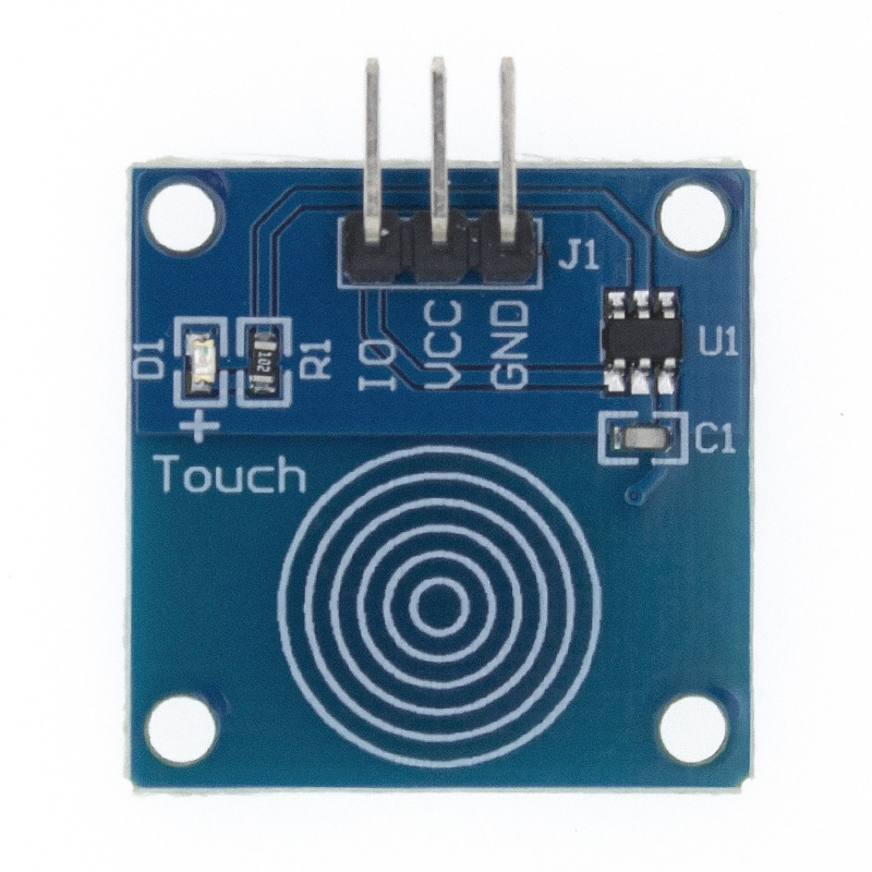 5pcs TTP223 TTP223B Jog Digital Touch Sensor Capacitive Touch Touch Switch Modules Accessories