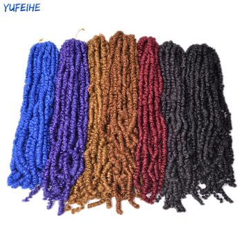 Spring Twist Locs Hair Passion Twist Crochet Hair Synthetic Braiding Hair Extensions 18Inch 100g/Pack Spring Twist Organic Hair 4