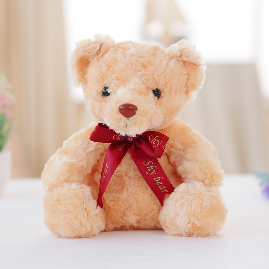 Creative Light Up LED Teddy Bear Stuffed Animals Plush Toy Colorful Glowing Christmas Gift for Kids Just6F