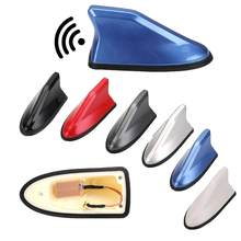 Car Radio Shark Fin Car Shark Antenna Radio FM Signal Design For All Cars Aerials Antenna Car Styling 2020 Hot Sale 16cm x 7.7cm(China)