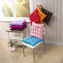 Cushion Durable Polka Dot Chair Garden Dining Home Office Seat Soft Pad 8 Colors 40*40 Cm Coussin