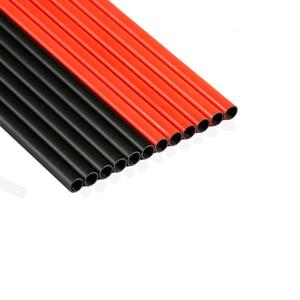 "Image 4 - Linkboy Archery 12PCS Carbon Arrows Sp300 600 Fluorescen Orange 2""Vanes ID6.2mm Compound Bow Hunting Shooting"