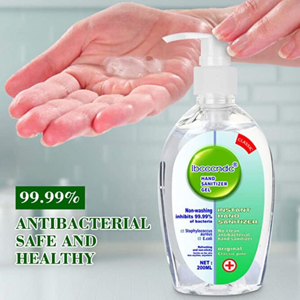 Gel Hand Sanitizer 75% Alcohol Universal Disinfectant Hand Wash Gel Antibacterial Hand Sanitizer 1 Piece