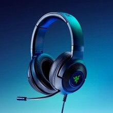 Earphone Gaming-Headset Kraken Surround-Sound Razer Bendable Cardioid X-USB Custom-Tuned