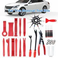38PCS Professional Car Audio Disassembly Interior Door Panel Trim Dash Auto Radio Removal Pry Tools Set Car Panel Removal Tools