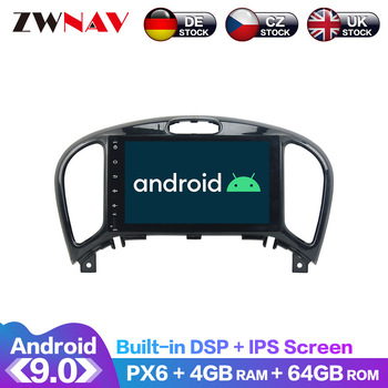 Android 9.0 IPS Screen PX6 DSP For Nissan Juke YF15 2014 - 2016 No Car DVD Player GPS Multimedia Player Radio Audio Stereo 2 DIN android 9 0 ips screen px6 dsp for kia soul 2014 2015 2016 2020 car no dvd gps multimedia player head unit radio audio stereo